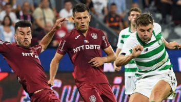 CFR Cluj  1 - 1  Celtic