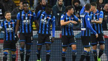 Udinese  1 - 3  Atalanta