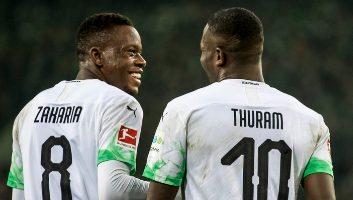 Borussia M'gladbach  4 - 2  Eintracht Frankfurt