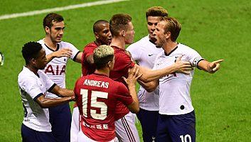 Tottenham Hotspur  1 - 2  Manchester United