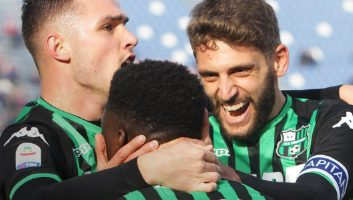 Frosinone  0 - 2  Sassuolo