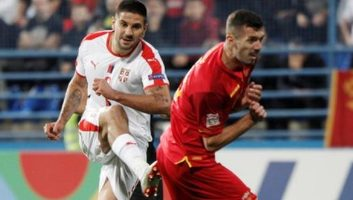 Montenegro  0 - 2  Serbia