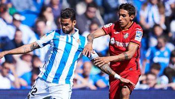 Real Sociedad  1 - 2  Getafe