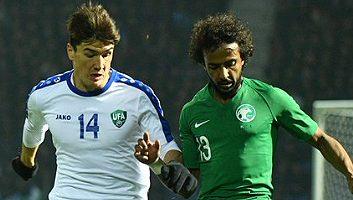 Uzbekistan  2 - 3  Saudi Arabia