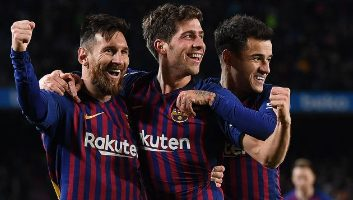 Barcelona  6 - 1  Sevilla