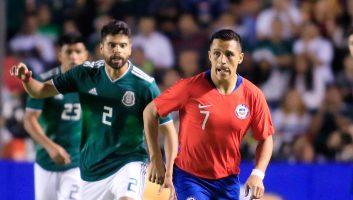 Mexico  0 - 1  Chile