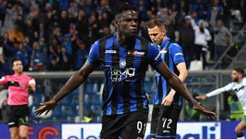 Atalanta  3 - 1  Sassuolo