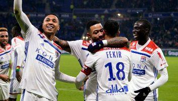 Lyon  3 - 0  Monaco
