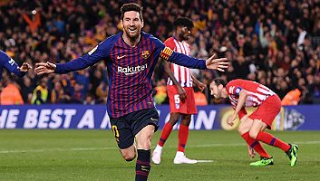 Barcelona  2 - 0  Atletico Madrid