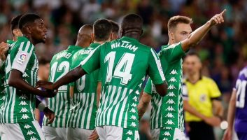 Real Betis  1 - 2  Real Valladolid