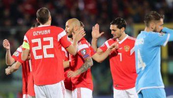 San Marino  0 - 5  Russia