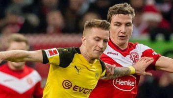 Fortuna Duesseldorf  2 - 1  Borussia Dortmund
