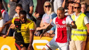 Ajax  2 - 1  Watford