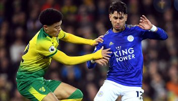 Norwich City  1 - 0  Leicester City