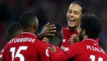 Liverpool  5 - 0  Huddersfield Town