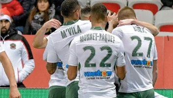 Nice  1 - 1  Saint-Etienne