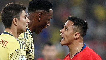 Colombia 0 - 0 Chile