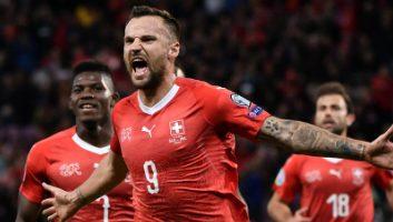 Switzerland  2 - 0  Ireland