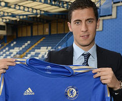 Hazard seals £32m Chelsea switch.