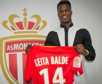 Monaco have completed the signing of Senegal winger Keita Balde from Lazio on a five-year deal.