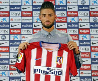Atlético Madrid have added an extra option in attack by signing the Belgium winger Yannick Carrasco from Monaco.