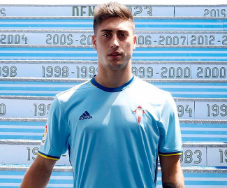 Galician player Alvaro Lemos signs for Celta Vigo.