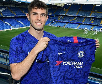 Christian Pulisic has officially arrived at new club Chelsea after completing his loan spell at Borussia Dortmund.