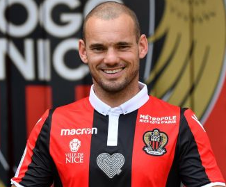 OGC Nice have announced the signing of Wesley Sneijder, who was a free agent having left Galatasaray.