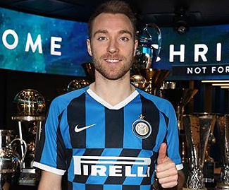 Inter Milan have signed Christian Eriksen from Tottenham Hotspur for 20 million euros, the Nerazzurri confirmed on Tuesday.