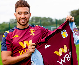Aston Villa have made Egypt international winger Trezeguet their ninth summer signing in an £8.75m deal.