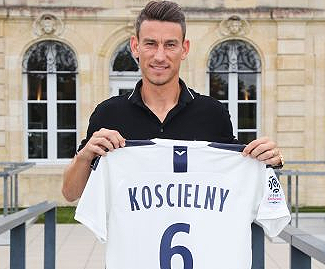 Laurent Koscielny, has returned to France after nine years with Arsenal, joining Bordeaux after the clubs agreed a fee of up to €5m.