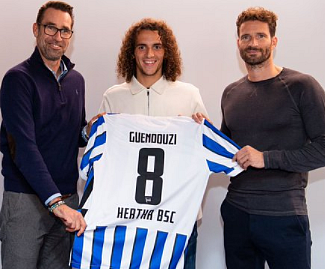 Mattéo Guendouzi has joined Hertha Berlin on a season-long loan from Arsenal.