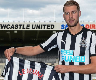 Newcastle United sign former Manchester City defender Florian Lejeune from Spanish side Eibar on a five-year deal for a reported £8.7m.