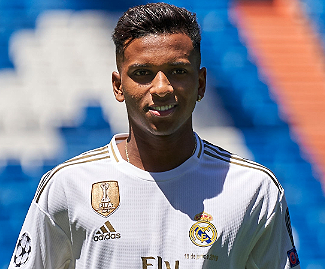 Real Madrid have completed the signing of Rodrygo for a reported €45 million.
