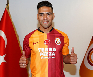 Galatasaray have officially completed the signing of Monaco striker Radamel Falcao, who joins the club on a free transfer, and will earn €5m over the course of three seasons.