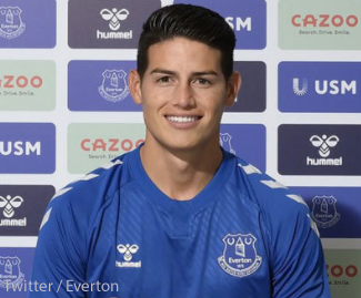 Everton have signed Colombia attacking midfielder James Rodriguez from Spanish giants Real Madrid.