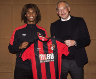 AFC Bournemouth have completed the signing of Netherlands international defender Nathan Ake for a club record fee.