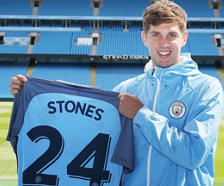 Manchester City have signed John Stones from Everton for £47.5m, making him the world's second most expensive defender.