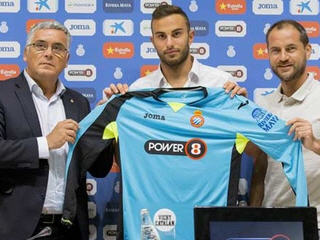 Espanyol have announced the signing of Inter Milan goalkeeper Francesco Bardi on a season-long loan deal.