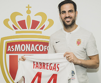 Monaco have completed the signing of Cesc Fabregas from Chelsea on a three-and-a-half year deal.