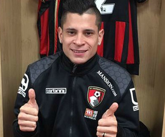 Bournemouth have signed forward Juan Iturbe on loan from Roma for the rest of the season.