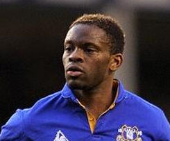 Tottenham have sealed the signing of Louis Saha on a short-term deal from Everton to keep him at White Hart Lane until the end of the season.
