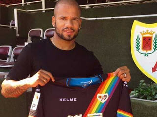 Bebe lands his ninth club in six years as former Manchester United flop joins Rayo Vallecano on loan from Benfica.