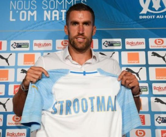 Kevin Strootman has ended his five-year spell at Roma after he completed a €25 million move to Marseille.
