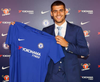 Chelsea have announced the £70m signing of Alvaro Morata on a five-year deal from Real Madrid.