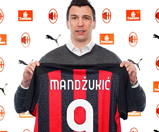 AC Milan have completed the signing of former Juventus striker Mario Mandzukic on a contract until the end of the season.