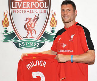Liverpool have completed the free transfer of out of contract Manchester City star James Milner