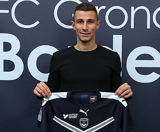 Bordeaux have signed winger Rémi Oudin from Stade Reims for €10m.