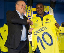 Arsenal striker Joel Campbell has joined Spanish club Villarreal on loan for the rest of the season.