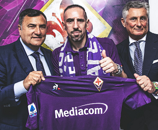 Franck Ribery joins Fiorentina on a free transfer after leaving Bayern Munich.